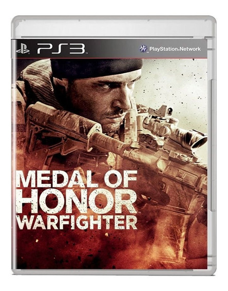 Medal Of Honor Warfighter Ps3 Midia Fisica