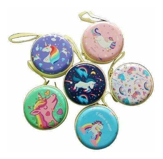 50 Monederos Unicornio Recuerdo Xv Años Baby Shower Niña
