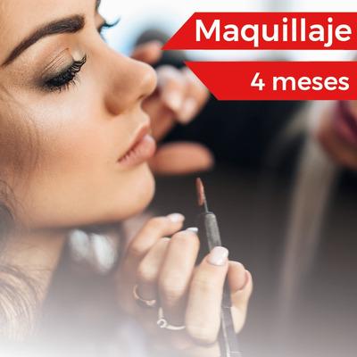 Curso De Maquillaje (4 Meses) $3600 Por Mes