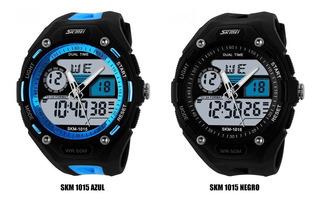 Skmei Moderno Deportivo Casual Resistente Alarma Cronometro
