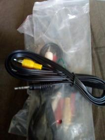 Kit Com 10 Cabo Audio E Video 3 X1