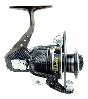 Molinete De Pesca Profissional 13 Rol - Alumínio Ssg 5000