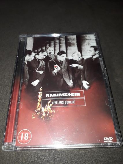 Dvd Rammstein - Live Aus Berlin - Importado