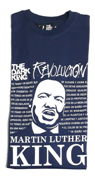 Remera Old School Talle Especial Martín Luther King