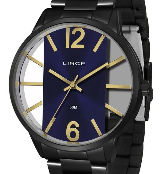 Relógio Lince Original Preto Lrn623l D2px Feminino + Nota