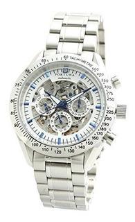 Fortuna Manual De Cuerda Reloj Automatico Con Diamantes Natu