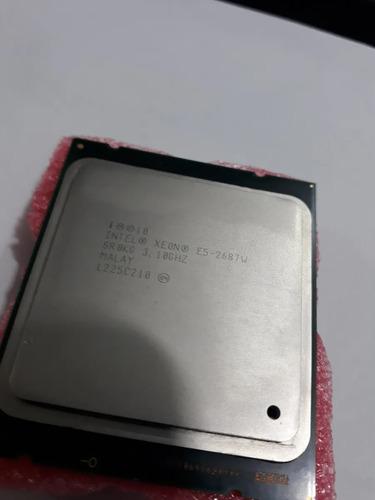 Processador Intel Xeon E5 2687w 3.10ghz/3.80ghz V1