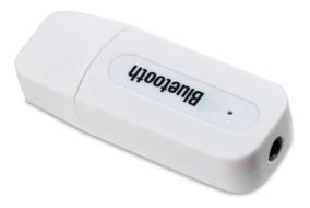 Adaptador Receptor Dongle Áudio Música Bluetooth Usb Cabo P2