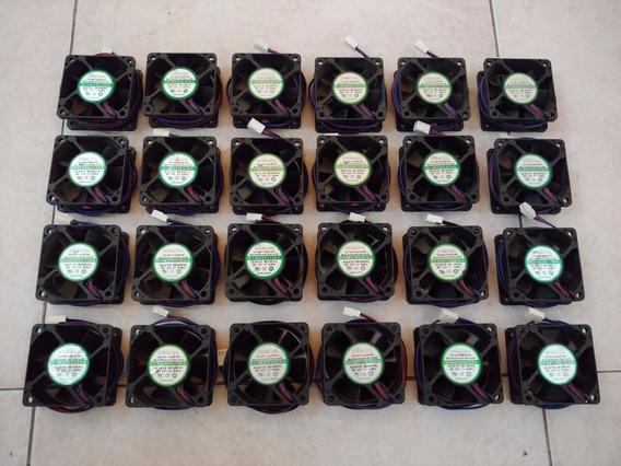 Cooler Fan Ventilador Evercool 6cm 60x60x25mm 3 Pines Server