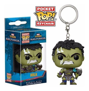 Funko Pocket Pop Gladiator Hulk Thor Ragnarok Llavero Figura