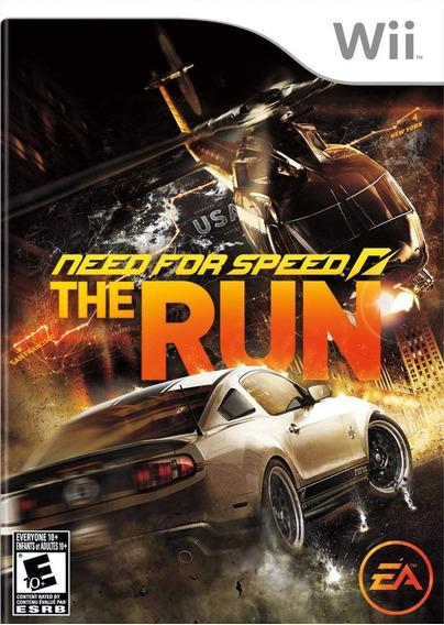 Jogo Lacrado Need For Speed The Run Para Nintendo Wii