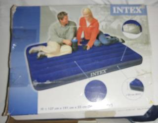 Colchão Inflável Para Casal Intex