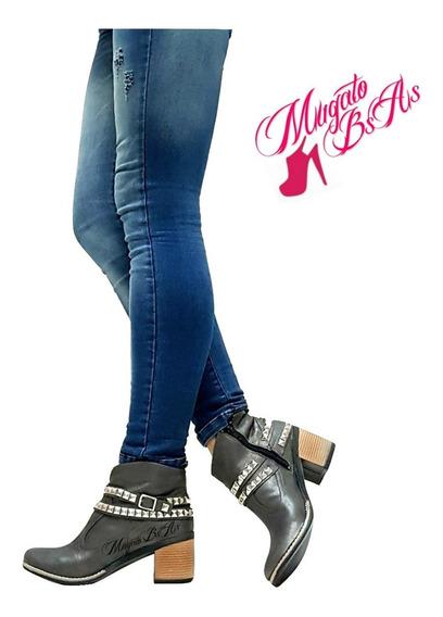 Botas Mujer Botinetas Bucanera Caña Media Alpin Mugato-bsas®