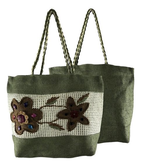 Bolsa Feminina Grande Tipo Sacola Comercial Textil 16001