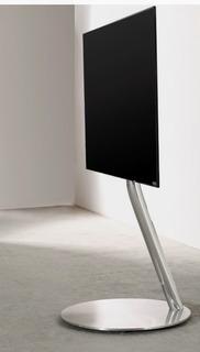 Soporte Minimalista Para Tv Moderno De Diseño Cromado
