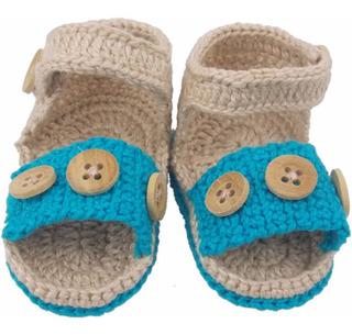 Sapatinho Sandália De Crochê Para Menino Pequeno Príncipe
