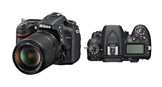 Camera Nikon D7100 +lente + Flash