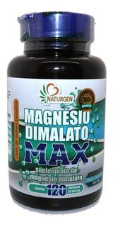 Magnesio Dimalato Puro 800mg C/120 Caps - 2 Meses Por Pote