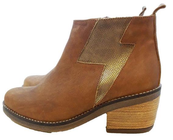 Botas Zapatos Cuero De Mujer Preston Envio Gratis Lubeca