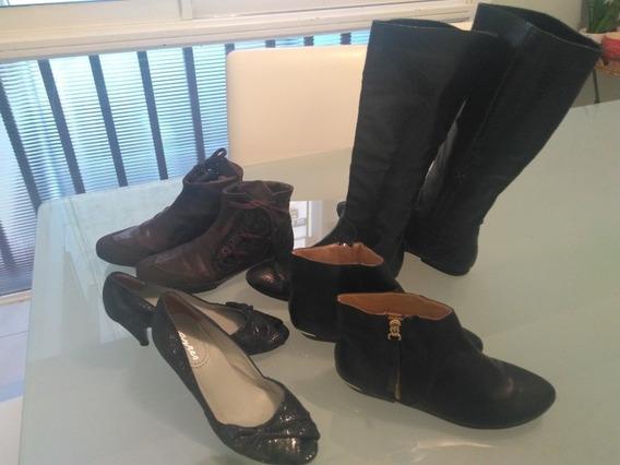Zapatos Botas Talla36 Impecable!!! Z30