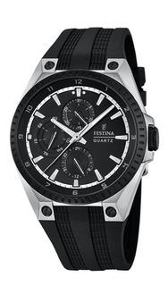Reloj Festina Hombre F16834 Acero Silicona Sumergible