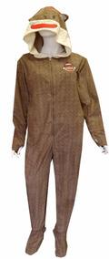 Pijama De Mono Para Adulto Sock Monkey. Marca Body Rage.