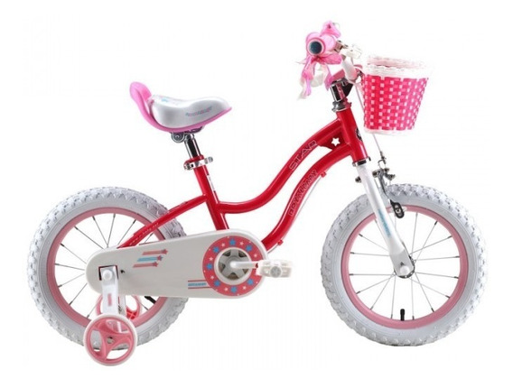 Bicicleta Royal Baby Star Girl Rodado 14 - Star Cicles