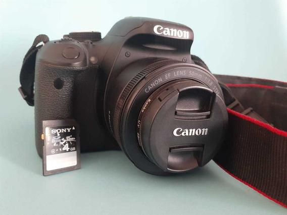 Câmera Profissional Canon T3i + Lentes
