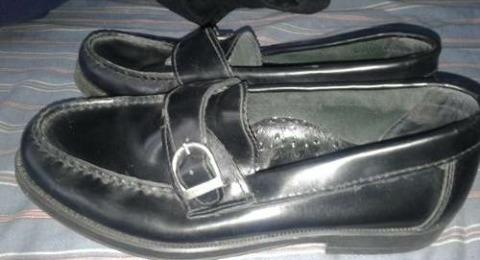 Zapatos Mocasin Cuero42