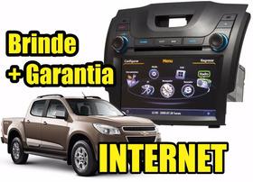 Kit Central Multimidia Nova S10 / Blazer Gps Dvd Cam Tv Gar