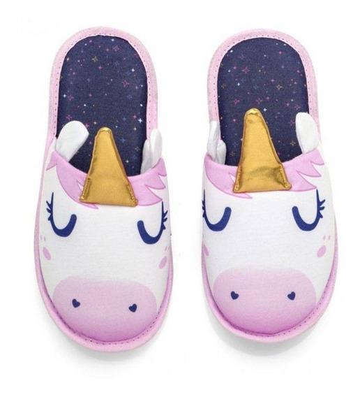 Pantufa Unicornio G Ludi
