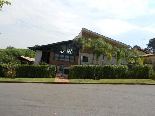 Casa Com 4 Dormitórios À Venda, 735 M² Por R$ 2.500.000,00 - Condomínio Marambaia - Vinhedo/sp - Ca1592