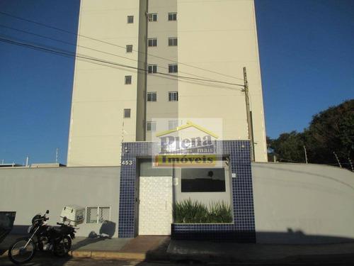 Imagem 1 de 30 de Apartamento Com 2 Dormitórios À Venda, 49 M² Por R$ 270.000,00 - Jardim Residencial Ravagnani - Sumaré/sp - Ap1006