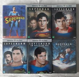 Superman - 3 Gerações - Lote C/ 7 Dvd
