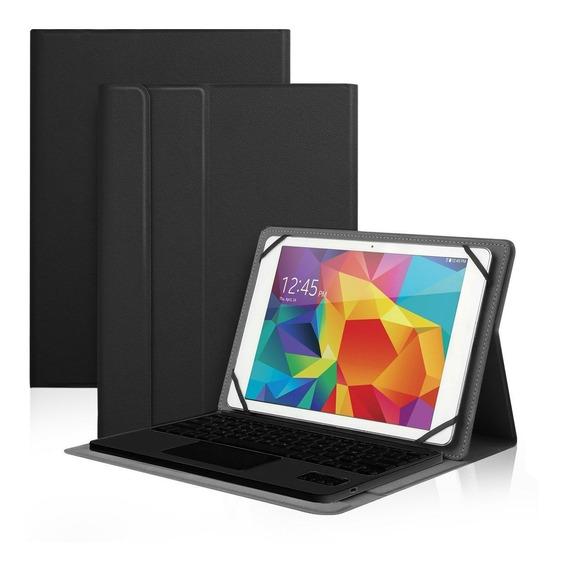 Capa Teclado Touchpad Mouse P/ Samsung Tab E 9.6 Tab S2 S3