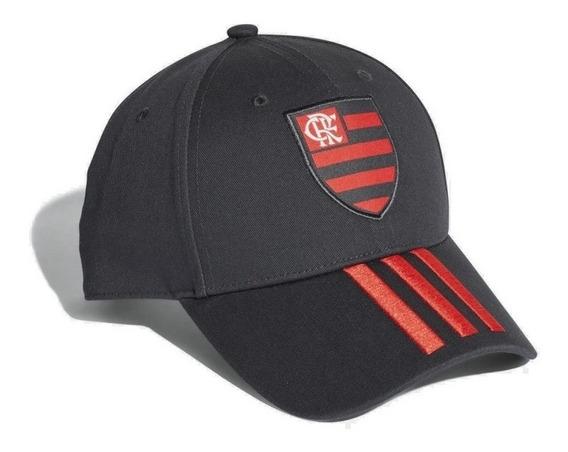 Boné adidas 3 Stripes Clube Regatas Flamengo Strapback