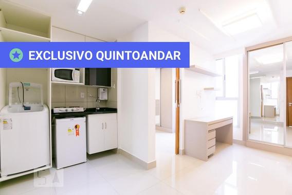 Apartamento No 3º Andar Mobiliado Com 1 Dormitório - Id: 892879714 - 179714