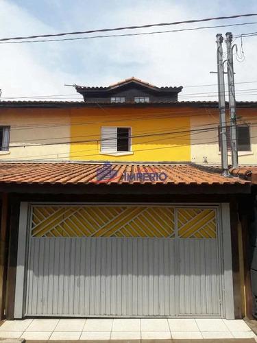 Imagem 1 de 9 de Sobrado De Condomínio Com 2 Dorms, Jardim São João, Guarulhos - R$ 235 Mil, Cod: 7161 - V7161