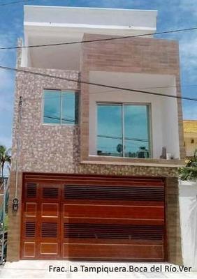 Hermosa Casa En La Tampiquera Con Vista Al Mar