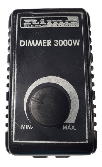Dimmer Rotativo Universal 3000w Bivolt Original T1