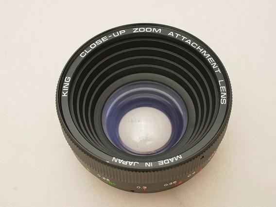Lente Macro Zoom Converter 50mm Canon Nikon Diam. 49/52mm §§