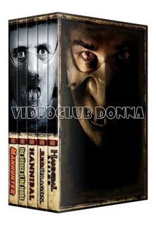 The Hannibal Lecter Saga Completa Pack 5 Dvd Coleccion