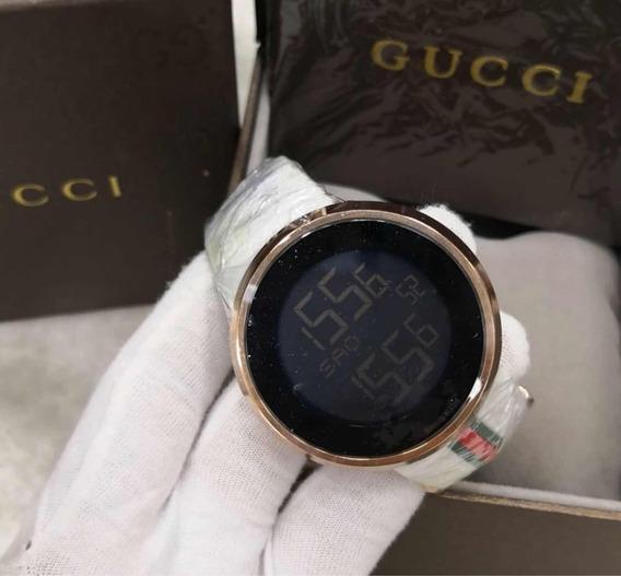 Relógio Digital Branco Novo Original