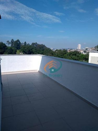 Apartamento Duplex Com 3 Dormitórios À Venda, 82 M² Por R$ 259.000,00 - Jardim São Domingos - Guarulhos/sp - Ad0006