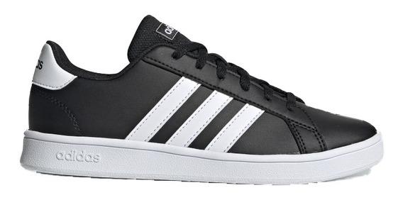 Zapatillas adidas Grand Court Niños Black Lifestyle