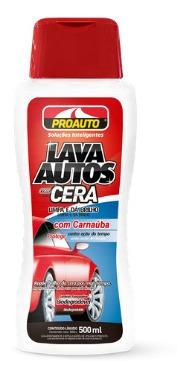Lava Autos Com Cera Com Carnaúba Para Carros - Proauto