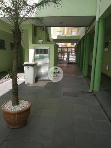 Imagem 1 de 18 de Apartamento Padrão À Venda Em Praia Grande/sp - 366