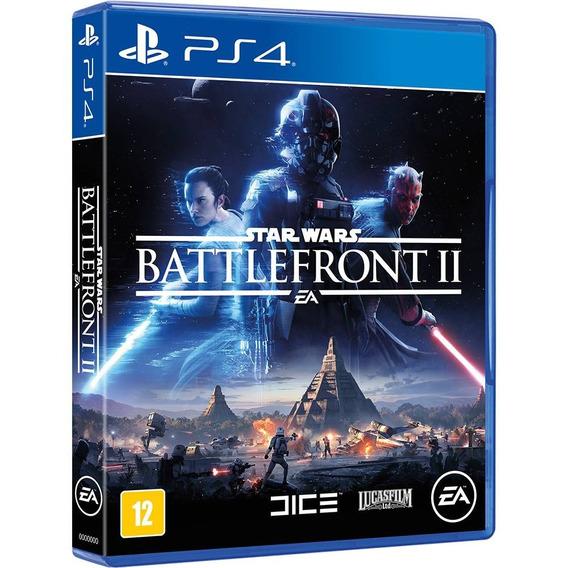 Jogo Star Wars Battlefront Ii Ps4 Mídia Física.