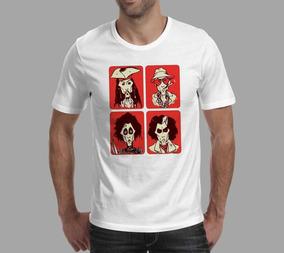 Camiseta Johnny Depp - Branca