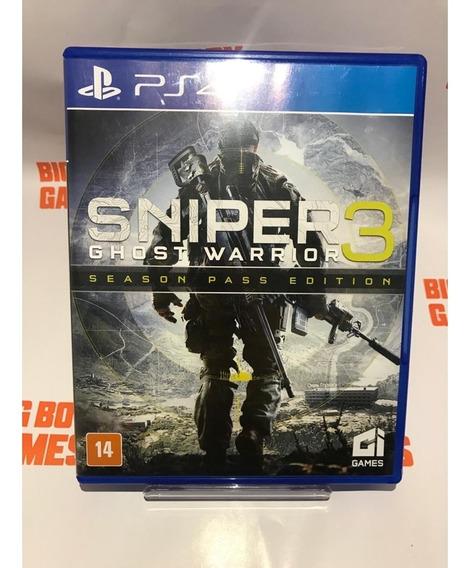 Sniper Ghost Warrior 3 (seminovo) - Ps4 - Original